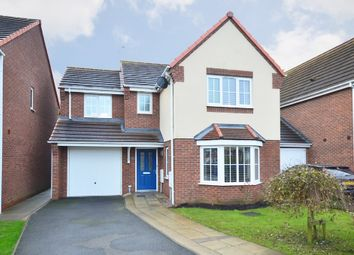 Thumbnail 3 bed detached house for sale in Warners Drive, Weston Coyney, Stoke-On-Trent