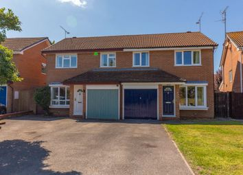 Thumbnail 3 bedroom semi-detached house for sale in Scott Close, Woodley, Reading