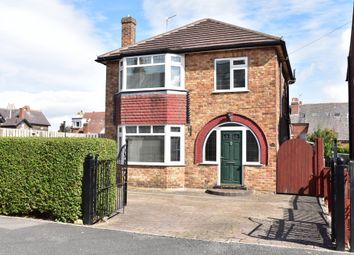 Thumbnail 3 bed detached house for sale in Wharfedale Avenue, Harrogate