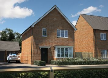 "Thumbnail 3 bedroom detached house for sale in ""The Yarkhill"" at Roman Road, Bobblestock, Hereford"