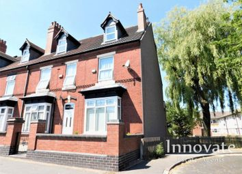 Thumbnail 3 bed end terrace house to rent in Vicarage Road, Oldbury