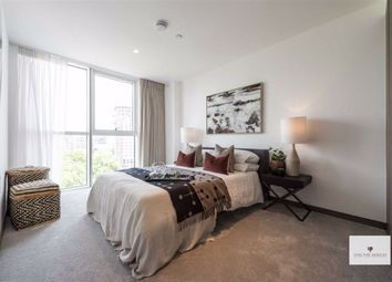 Thumbnail 3 bedroom flat for sale in North Wharf Road, London