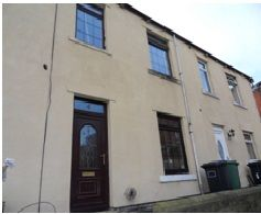 Thumbnail 2 bed terraced house to rent in Trinity Street, Mirfield