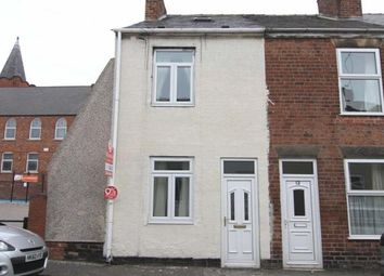 Thumbnail 2 bed terraced house for sale in Alma Street West, Brampton, Chesterfield, Derbyshire