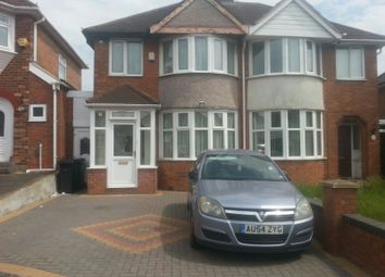 Thumbnail 3 bed semi-detached house to rent in Haycroft Avenue, Birmingham