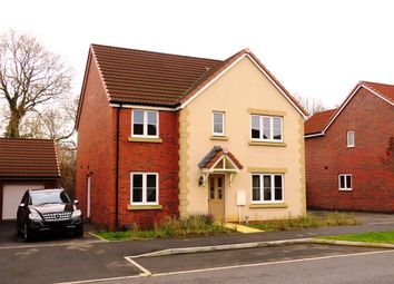Thumbnail 5 bed detached house for sale in Polesdon Avenue, Coate, Swindon