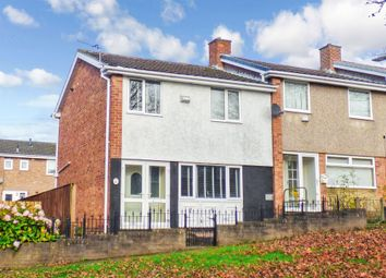 Thumbnail 3 bed terraced house for sale in Harraby Gardens, Gateshead