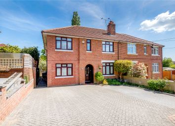 Thumbnail 4 bed semi-detached house for sale in Spring Lane, Bishopstoke, Eastleigh, Hampshire