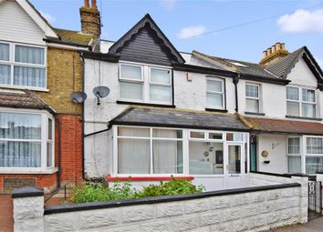 Thumbnail 3 bed terraced house for sale in Percy Avenue, Kingsgate, Broadstairs, Kent