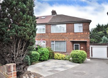 Thumbnail 3 bed semi-detached house for sale in Empress Drive, Chislehurst, Kent