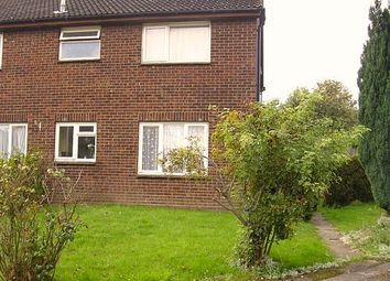 Thumbnail 1 bed terraced house to rent in Coleridge Close, Hitchin, Hertfordshire