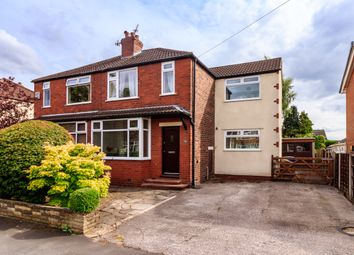 Thumbnail 3 bed semi-detached house for sale in Longmead Avenue, Hazel Grove, Stockport