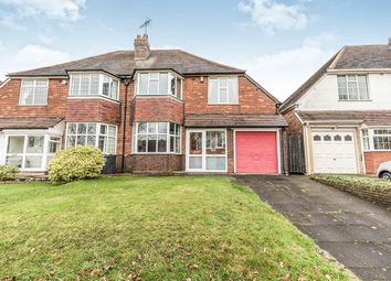 Thumbnail 4 bedroom semi-detached house for sale in Robin Hood Lane, Hall Green, Birmingham