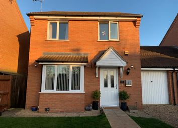 Thumbnail 3 bedroom link-detached house for sale in Red Barn, Turves, Peterborough