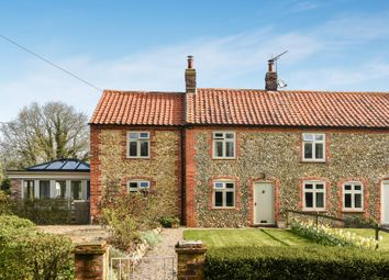 Thumbnail 3 bed cottage for sale in Wells Road, Hindringham, Fakenham