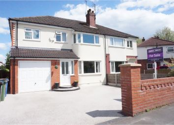 Thumbnail 4 bed semi-detached house for sale in Lindbury Avenue, Offerton