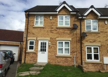 Thumbnail 3 bed semi-detached house to rent in Clemitson Way, Crook
