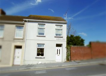 Thumbnail 4 bed end terrace house for sale in Cambrian Street, Llanelli, Carmarthenshire