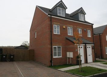 Thumbnail 3 bed semi-detached house for sale in Leyburn Avenue, Morley, Leeds