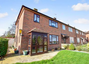 Thumbnail 3 bed end terrace house for sale in Oakmead, Tonbridge, Kent