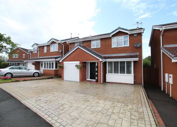 Thumbnail 4 bedroom detached house for sale in Bitham Court, Stretton, Burton-On-Trent