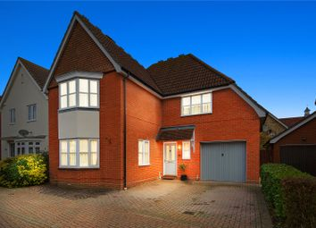 Thumbnail 4 bed detached house for sale in Hornbeam Chase, Brandon Groves, South Ockendon