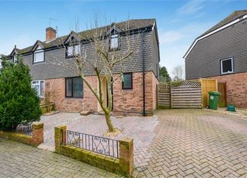 Thumbnail 3 bed semi-detached house for sale in Warmstone Close, Waddesdon, Buckinghamshire.