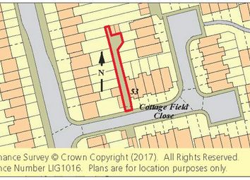 Thumbnail Land for sale in Land Cottage Field Close, Sidcup, Kent