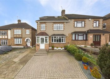 Thumbnail 4 bed semi-detached house for sale in Hacton Drive, Hornchurch