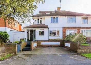 Thumbnail 4 bed semi-detached house for sale in Stratford Avenue, Rainham, Gillingham