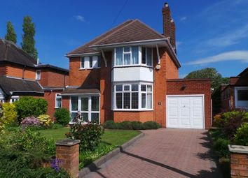 Thumbnail 3 bed detached house for sale in Barnard Road, Sutton Coldfield