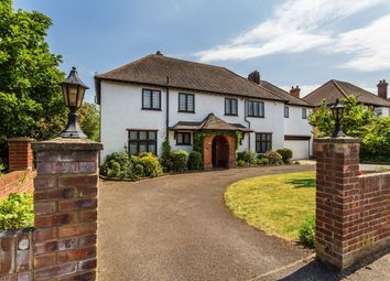 Thumbnail 6 bed detached house for sale in Manor Road, Cheam, Sutton