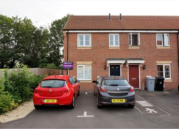 Thumbnail 3 bed end terrace house for sale in Braeburn Road, Peterborough