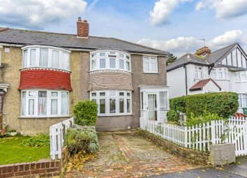 Thumbnail 3 bed end terrace house for sale in Egham Crescent, Cheam, Sutton
