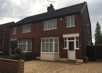 Thumbnail 3 bedroom semi-detached house to rent in Ravendale Street South, Scunthorpe