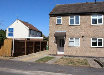 Thumbnail 2 bed semi-detached house to rent in The Pastures, Broughton Astley, Leicester