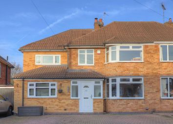 Thumbnail 4 bed semi-detached house for sale in Castleton Road, Wigston