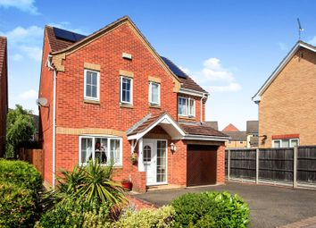 Thumbnail 4 bed detached house for sale in Highclere Road, Hampton Hargate, Peterborough