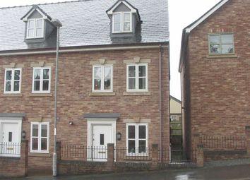 Thumbnail 3 bed terraced house for sale in 7, Ffordd Spoonley, Llansantffraid, Powys