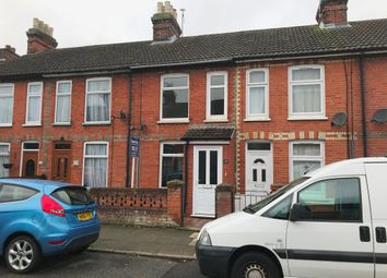 Thumbnail 2 bed terraced house to rent in Leopold Road, Ipswich