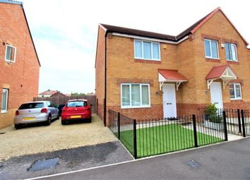 Thumbnail 2 bed semi-detached house for sale in Charles Street, Boldon Colliery