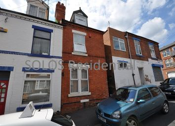 Thumbnail 3 bedroom end terrace house to rent in Harcourt Road, Forest Fields, Nottingham
