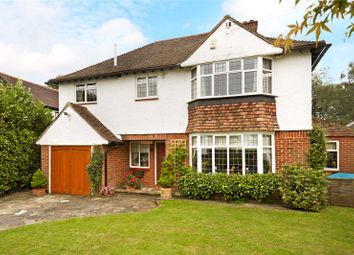 Thumbnail 5 bed detached house for sale in Downs Wood, Epsom Downs, Surrey
