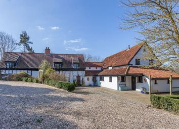 Thumbnail 6 bed detached house for sale in Wash Lane, Forncett St. Peter, Norwich