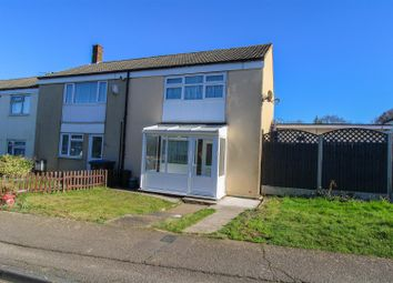 Thumbnail 2 bed end terrace house for sale in Hornbeams, Harlow