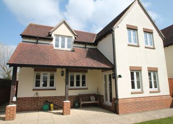 Thumbnail 4 bed detached house for sale in Hanney Road, Steventon, Abingdon
