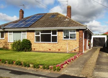 Thumbnail 3 bed semi-detached bungalow for sale in Low Moor Avenue, Off Heslington Lane, Fulford, York