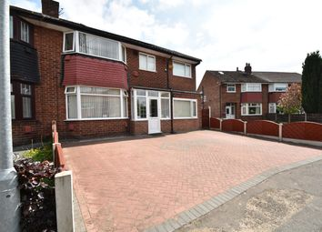Thumbnail 4 bed semi-detached house for sale in Barnard Avenue, Whitefield, Manchester
