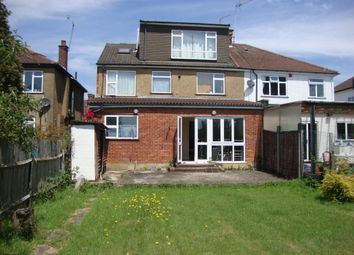 Thumbnail 6 bed semi-detached house to rent in Hunters Grove, Kenton