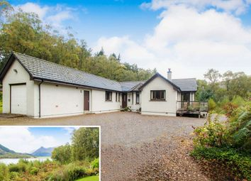 Thumbnail 3 bed detached bungalow for sale in Old Railway Goods Yard, Albert Road, Ballachulish